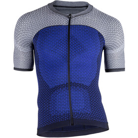 UYN Biking Alpha OW Blouse korte mouwen Heren, medieval blue/sleet grey